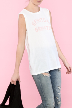 Shoptiques Product: White Muscle Tee