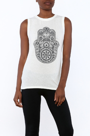 SPIRITUAL GANGSTER Knit Sleeveless Tee - Product Mini Image