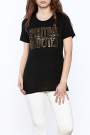 SPIRITUAL GANGSTER Black Graphic Tee - Product Mini Image
