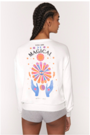 Spiritual Gangster  Magical Crew Brushed Long Sleeve Tee - Product Mini Image