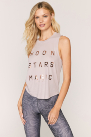 Spiritual Gangster  Moon and Stars Graphic Tank - Product Mini Image