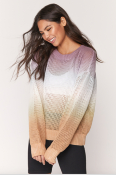 Shoptiques Product: Spiritual gangster roomy mesh sweater