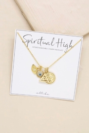Ettika Spiritual High Interchangeable Charm Necklace - Side cropped