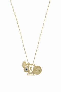 Ettika Spiritual High Interchangeable Charm Necklace - Product List Image