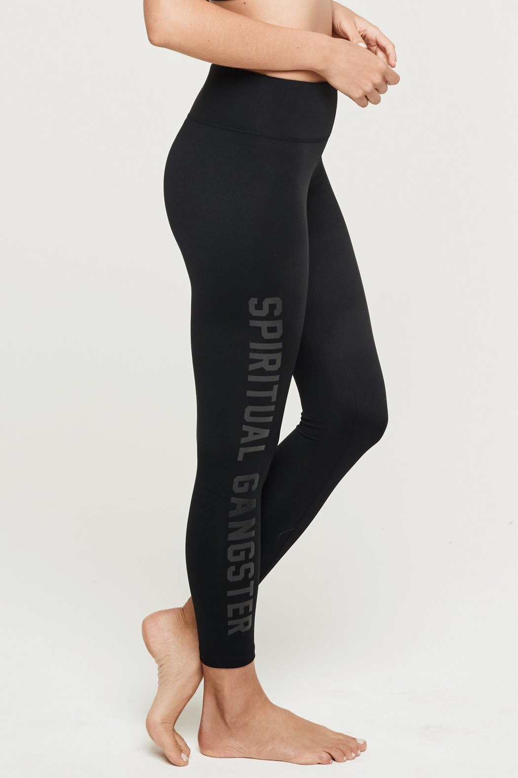 SPIRITUAL GANGSTER 7/8 High-Vibe Legging - Front Cropped Image