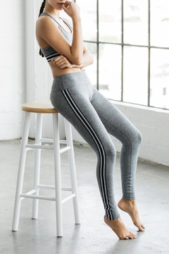 Shoptiques Product: Athletic Stripe Legging