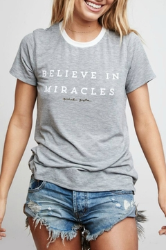 Shoptiques Product: Believe In Miracles Top