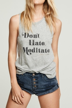 Shoptiques Product: Don't Hate, Meditate