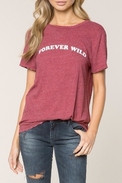 SPIRITUAL GANGSTER Forever Wild Tee - Product List Image