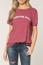 SPIRITUAL GANGSTER Forever Wild Tee - Front cropped