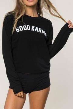 Shoptiques Product: Good Karma Sweatshirt