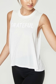 SPIRITUAL GANGSTER Grateful Crop Tank - Front cropped
