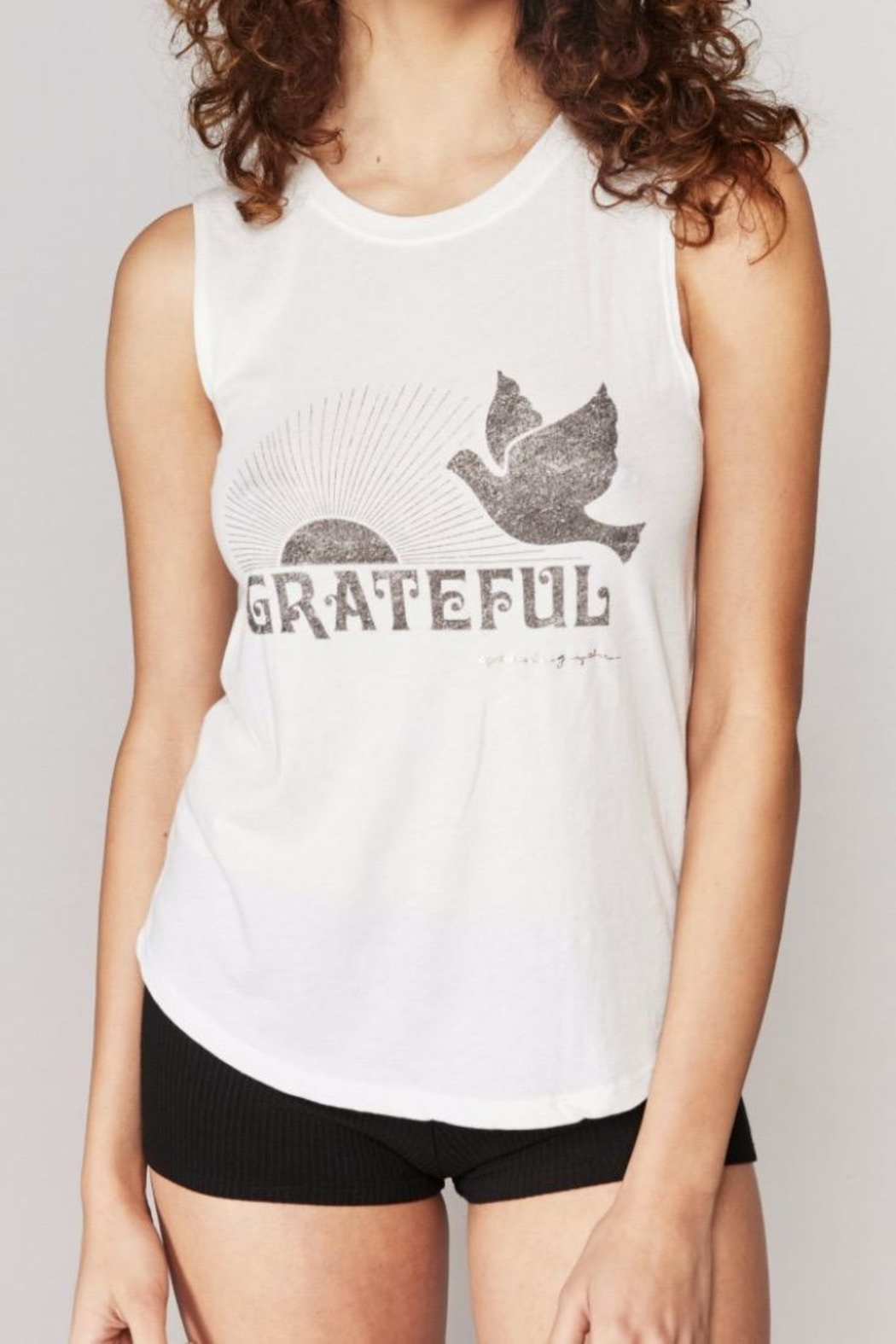 SPIRITUAL GANGSTER Grateful Dove Tank - Main Image