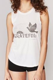SPIRITUAL GANGSTER Grateful Dove Tank - Front cropped