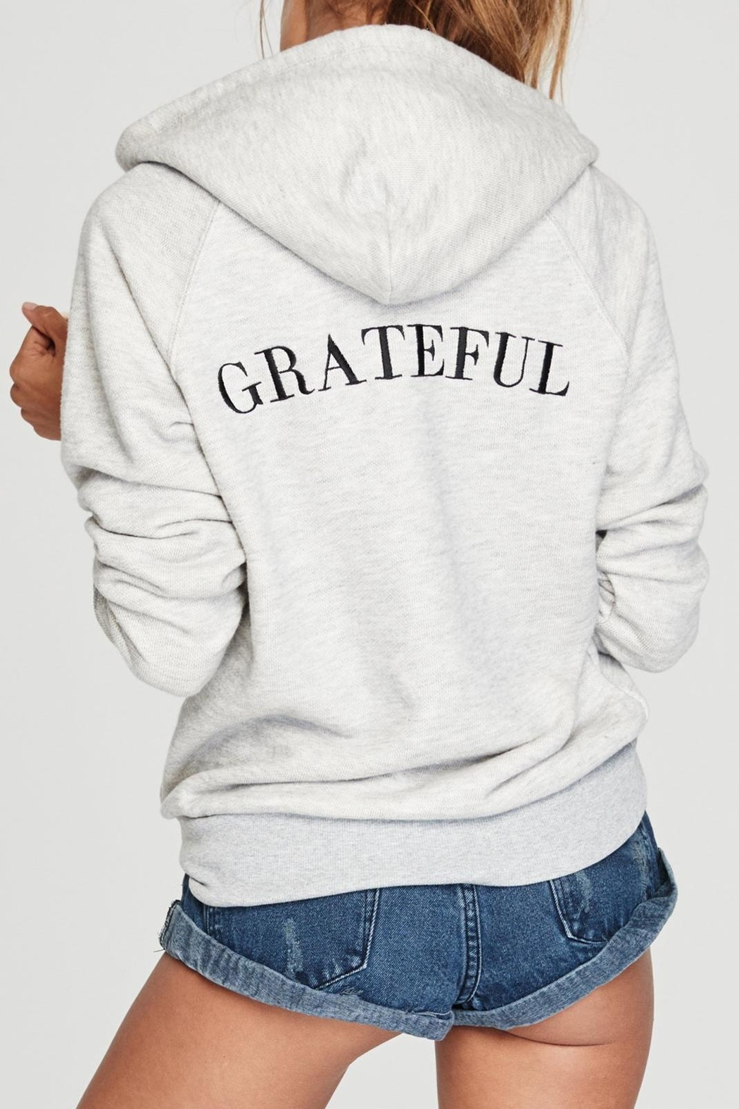 SPIRITUAL GANGSTER Grateful Gym Hoodie - Main Image