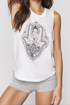 SPIRITUAL GANGSTER Hamsa Muscle Tank - Alternate List Image