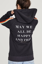 SPIRITUAL GANGSTER Happy & Free Hoodie - Product Mini Image