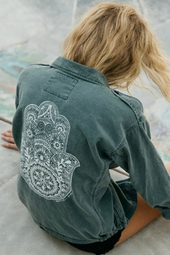 Shoptiques Product: Henna Hamsa Jacket