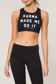 SPIRITUAL GANGSTER High Neck Karma Bra - Product Mini Image