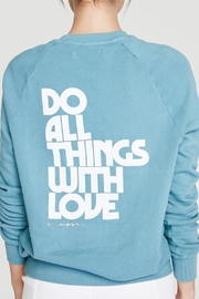 SPIRITUAL GANGSTER Love Crew Pullover - Front full body