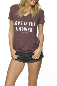 Shoptiques Product: Love Is The Answer Top