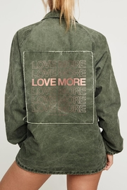 SPIRITUAL GANGSTER Love More Jacket - Front cropped