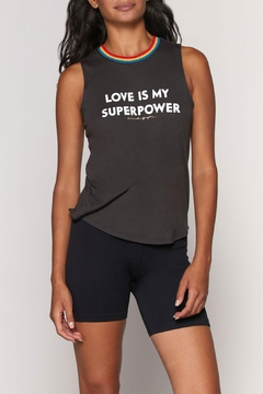 SPIRITUAL GANGSTER Love Superpower Tank - Product List Image