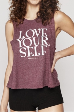 SPIRITUAL GANGSTER Love Yourself Tank - Product List Image