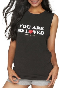 SPIRITUAL GANGSTER Loved Chakra Muscle Tank - Product List Image