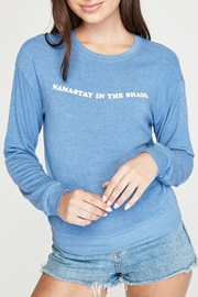 SPIRITUAL GANGSTER Namastay Pullover - Product Mini Image