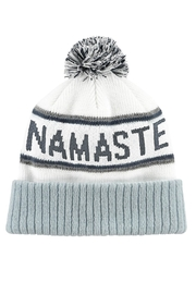 SPIRITUAL GANGSTER Namaste Pompom Beanie - Product Mini Image