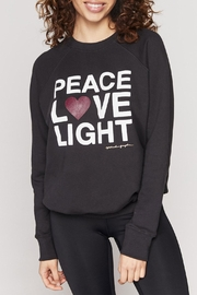SPIRITUAL GANGSTER Peace Classic Sweatshirt - Front cropped