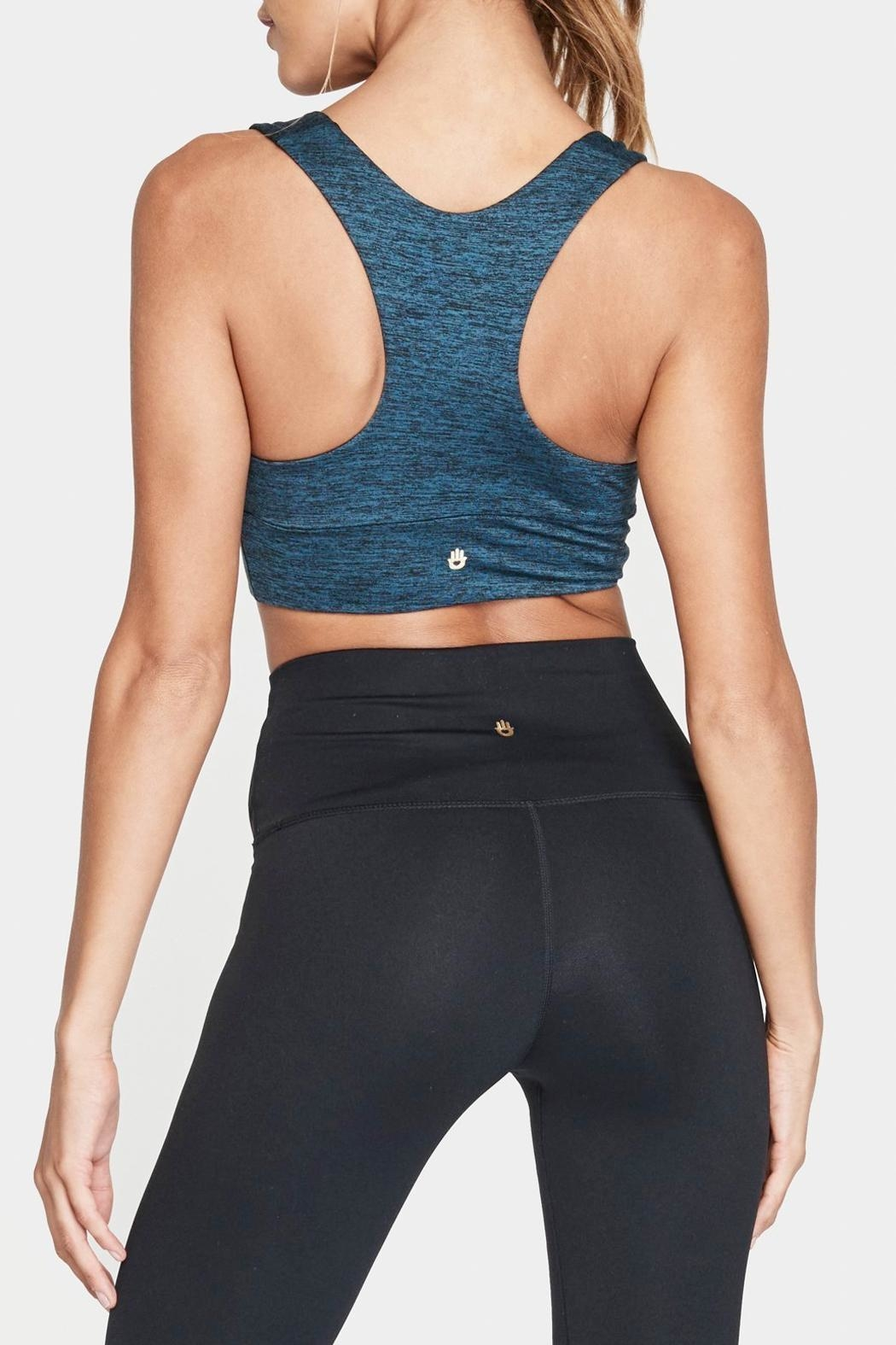 SPIRITUAL GANGSTER Plunge Active Bra - Side Cropped Image