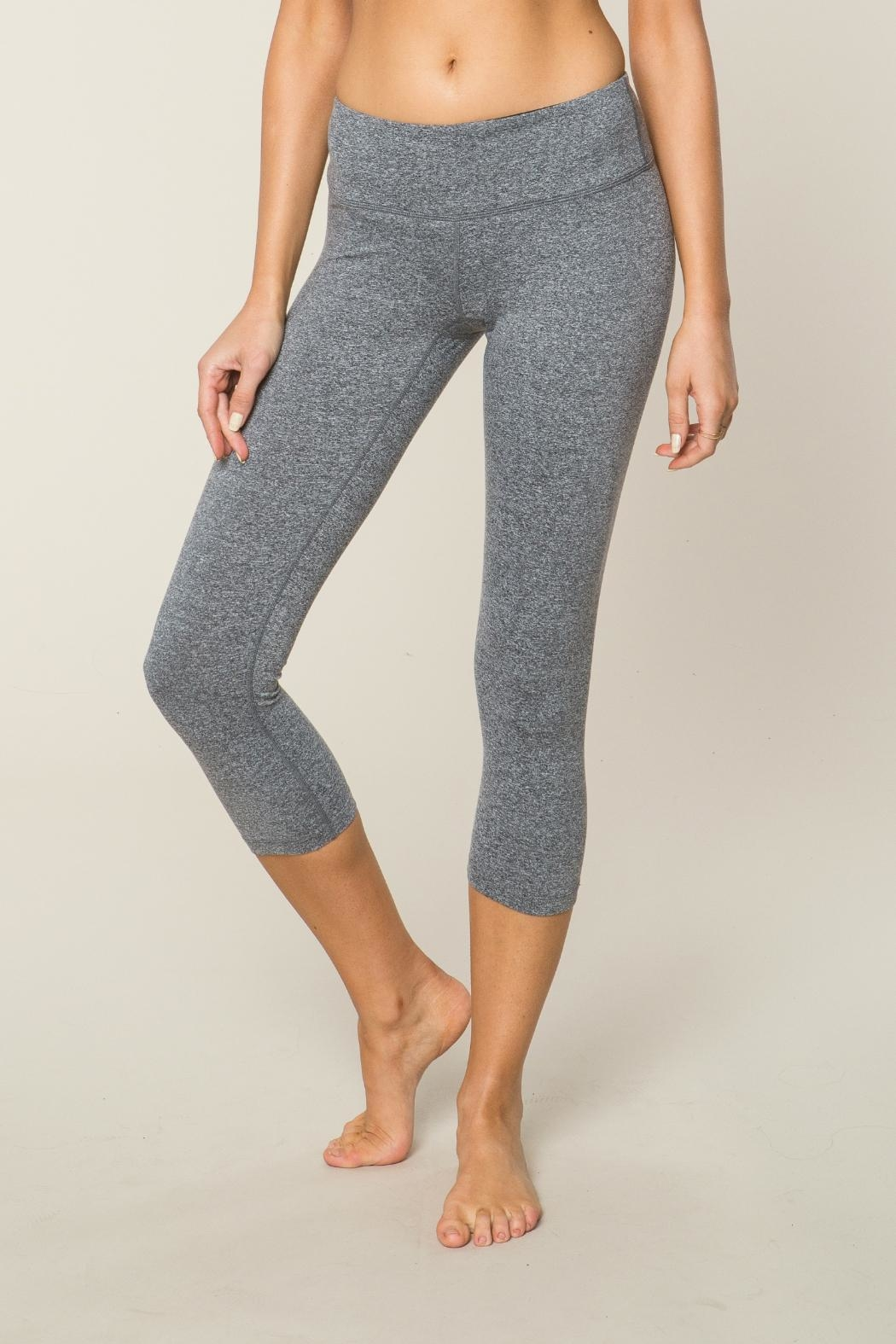SPIRITUAL GANGSTER Power Crop Leggings - Main Image