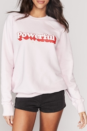 SPIRITUAL GANGSTER Powerful Crew Sweatshirt - Product Mini Image