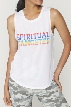 SPIRITUAL GANGSTER Rainbow Active Tank - Product List Image