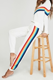 SPIRITUAL GANGSTER Rainbow Knit Sweatpant - Product Mini Image