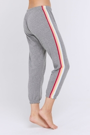 SPIRITUAL GANGSTER Rainbow Stripe Sweatpant - Front cropped