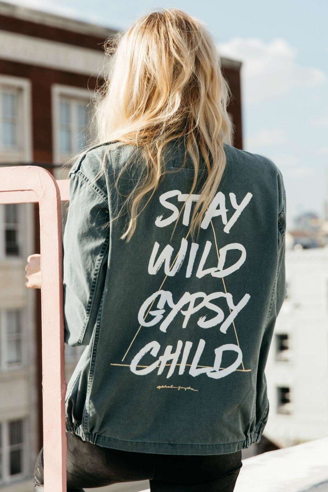 SPIRITUAL GANGSTER Stay Wild Jacket - Front Cropped Image