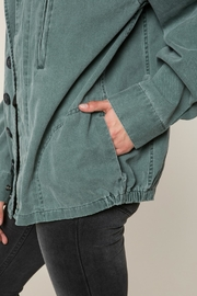 SPIRITUAL GANGSTER Stay Wild Jacket - Back cropped