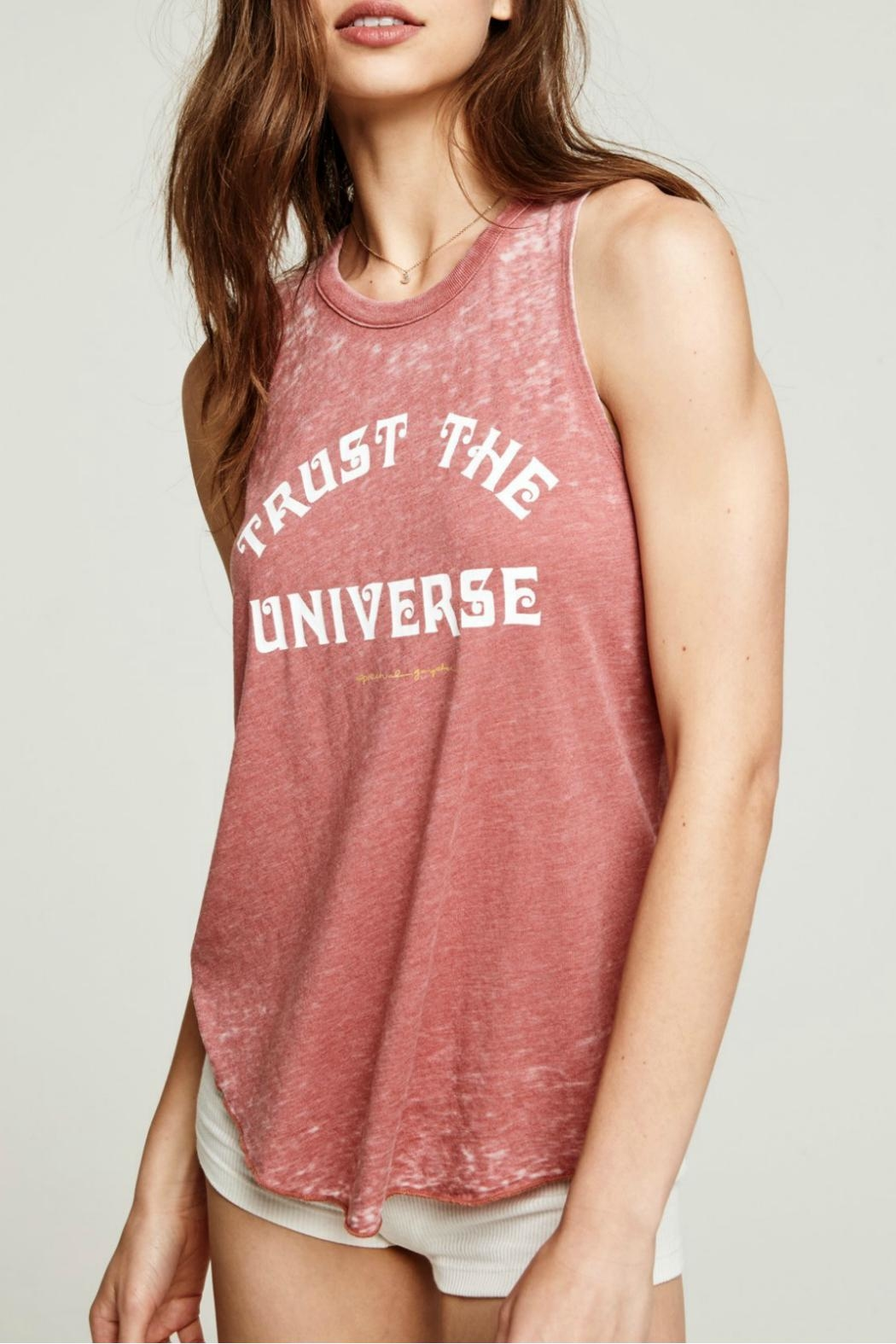 SPIRITUAL GANGSTER Trust Universe Tank - Front Cropped Image