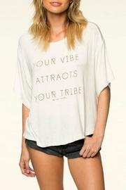 SPIRITUAL GANGSTER Vibe Attracts Tee - Product Mini Image