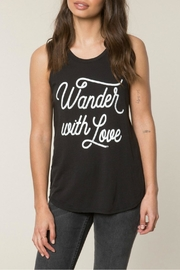 SPIRITUAL GANGSTER Wander With Love Top - Product Mini Image