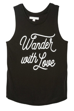 SPIRITUAL GANGSTER Wander With Love Top - Alternate List Image