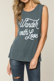 SPIRITUAL GANGSTER Wander With Love Tee - Product Mini Image
