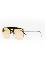 Spitfire Black Tan Sunglasses - Front full body