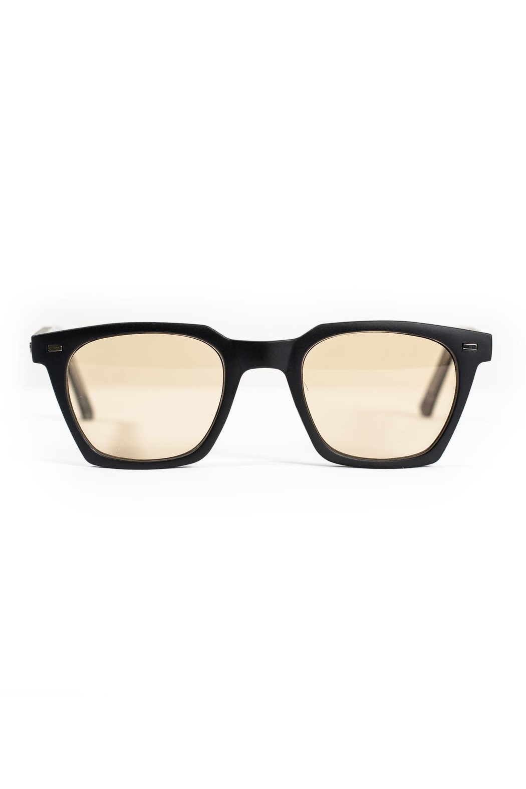Spitfire Black Tan Sunglasses - Front Full Image