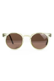 Spitfire Olive Brown Sunglasses - Front cropped