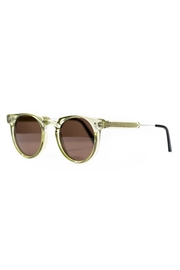Spitfire Olive Brown Sunglasses - Front full body