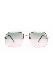 Spitfire Pink Blue Sunglasses - Front full body